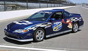 Chevrolet Monte Carlo Pace Car And Camaro Ss Track Cars