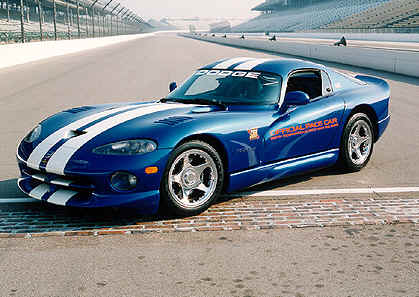 Viper Dodge on 1996 Dodge Ram Pace Truck And Viper Pace Car