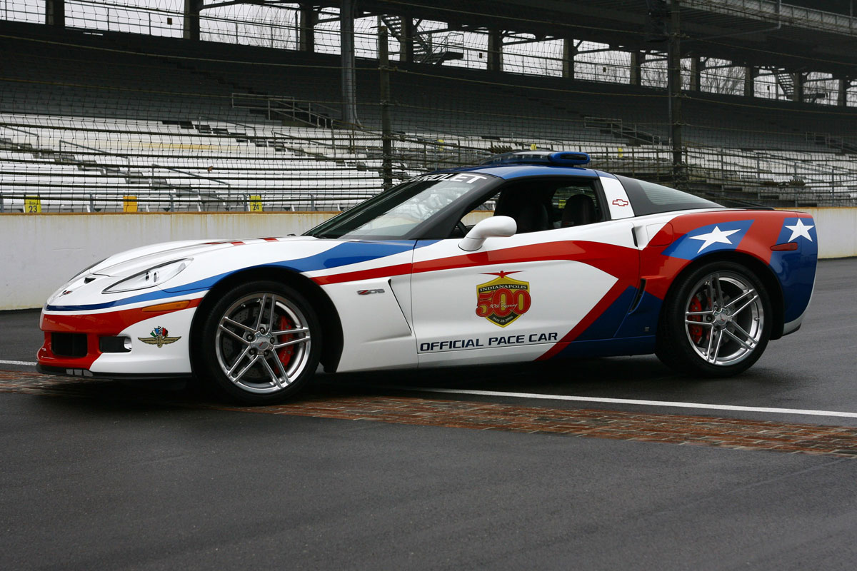 Indypacecars.com - Chevy Corvette Z06 to Pace 2006 Indy 500