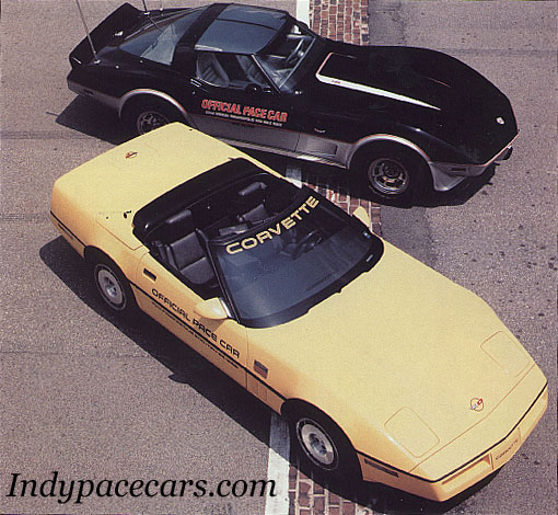 1986 pace car chevy corvette for Pace motor lines inc